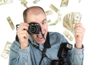 Fotograf v balíku